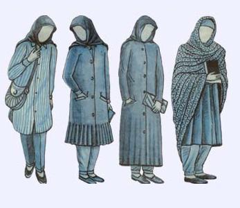 Unique Women Wear Men And Women Arab Men The Face Dress Codes Woman Dresses